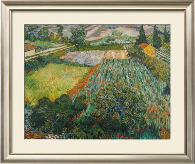 Field of Poppies, Saint-Remy, c.1889 Poster by Vincent van Gogh