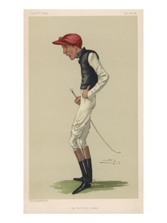 Fred Archer, Jockey Giclee Print