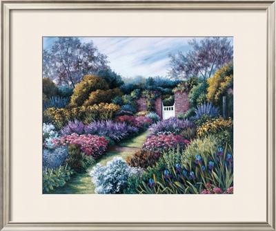 Dorset Gateway Print by Barbara R. Felisky