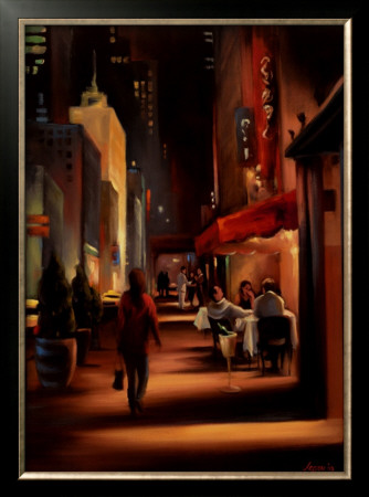 Twenty-Seventh Avenue Print by Carol Jessen