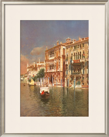The Grand Canal, Venice Posters by Rubens Santoro