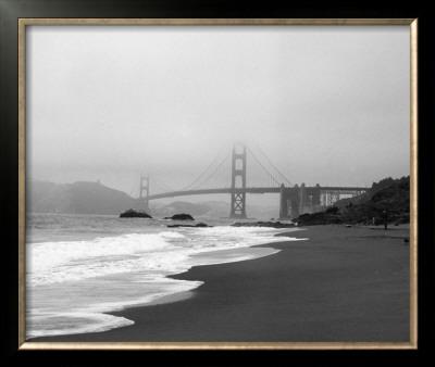 Golden Gate Bridge II Art by Bradford Smith