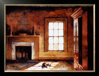 Heyward House Parlour Prints by Mark A. Stewart