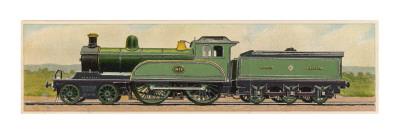 Locomotive 1870 of the North Eastern Railway Giclee Print