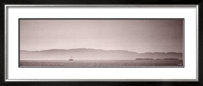 Seul en Mer Prints by Philip Plisson