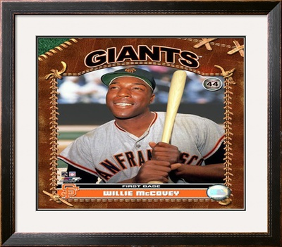Willie McCovey Framed Photographic Print