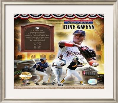 Tony Gwynn Framed Photographic Print