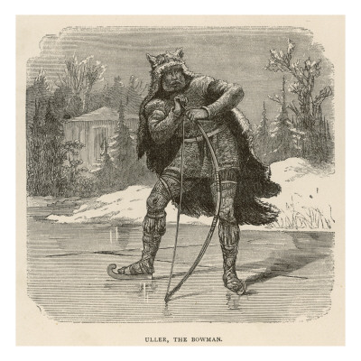 Uller the Bowman, God of Winter and Archery Giclee Print