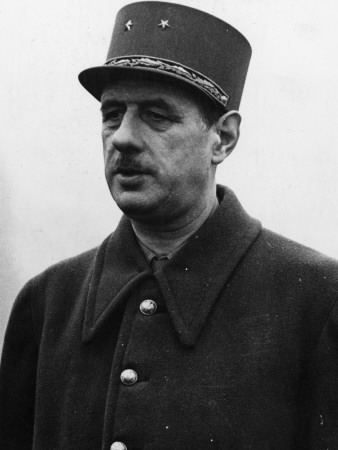 Charles De Gaulle (1890-1970) French Soldier and Statesman Photographic Print