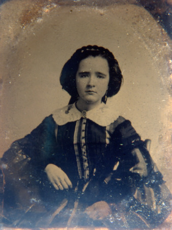 Woman from USA, circa 1858