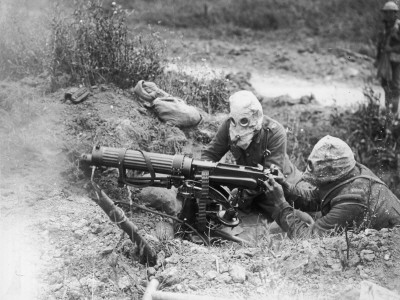 Machine Gunners 1916 Photographic Print by Robert Hunt