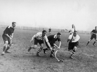 Men's Hockey Match Photographic Print