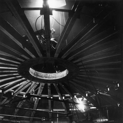 Seam Welding under Arc Lighting Photographic Print by Heinz Zinram
