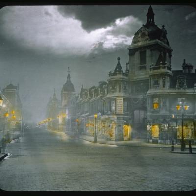 Smithfield Market by Night Photographic Print