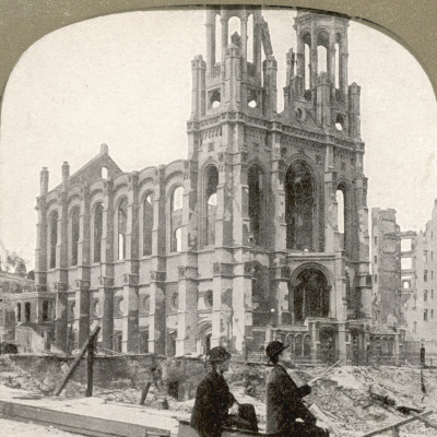 San Francisco - the Synagogue Photographic Print