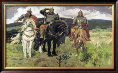 Bogatiri Posters by Victor Mikhailovich Vasnetsov