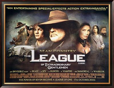 The League Of Extraordinary Gentlemen Posters