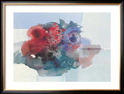 Blumen I Print by Heinz Hock