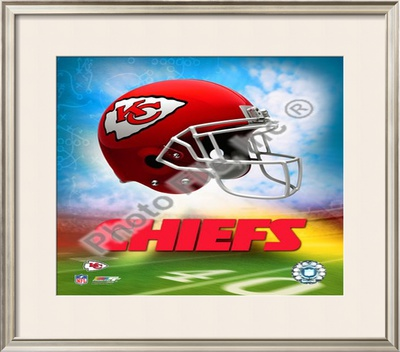 2009 Kansas City Chiefs Framed Photographic Print