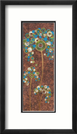 Bubble Panel II Framed Art Print