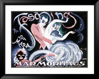 Marmorhaus Fasching Framed Giclee Print