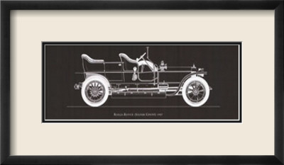 Rolls Royce, 1907 Framed Art Print