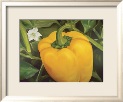 Vegetable Garden I Framed Art Print