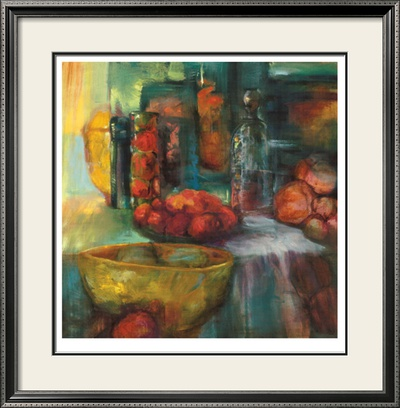 Red and Green Fruit I Limited Edition Framed Print