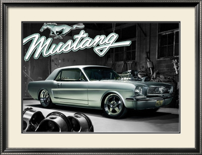 Mustang 1966 Framed Art Print
