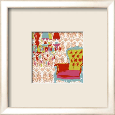 Pop Orange Framed Art Print