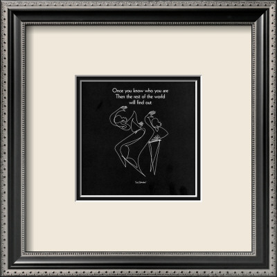 Once You Know Who You Are II Framed Art Print