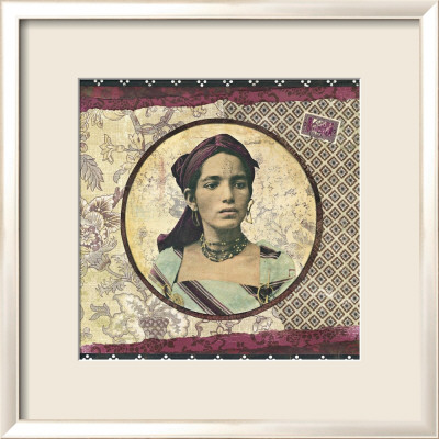 Femme Kabyle Framed Art Print