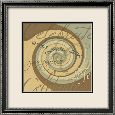 Mod Celebrate Framed Art Print