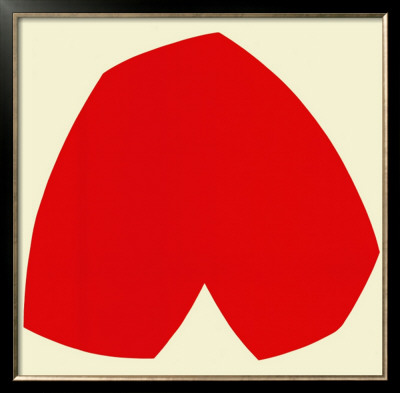 Red White, c.1962 Posters by Ellsworth Kelly