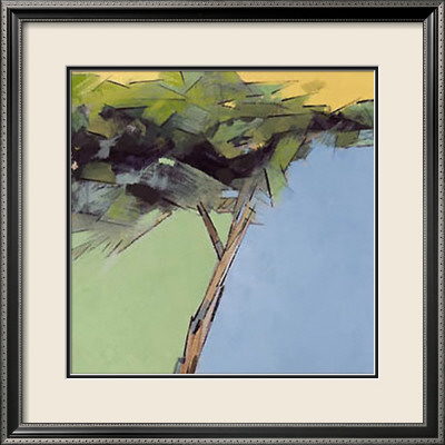 Three Trees III Framed Art Print