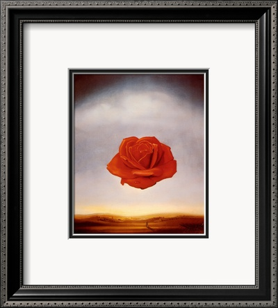 Rose Meditative, c.1958 Framed Art Print