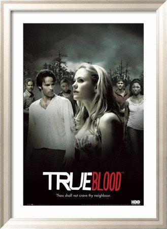 True Blood Framed Poster
