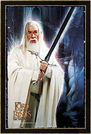 The Lord Of The Rings: The Two Towers Póster enmarcado