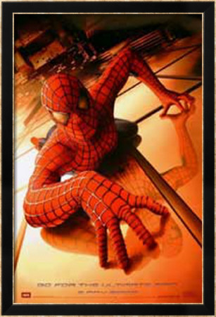 Spider-Man Framed Poster