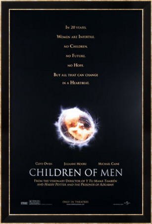 Children Of Men Framed Art Print