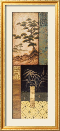 Somewhere in Japan I Framed Art Print