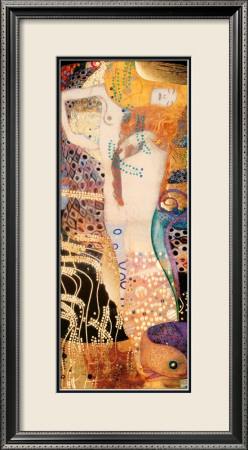 Water Serpents I, c.1907 Framed Art Print