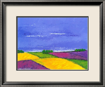 Colorful Landscape I Framed Art Print