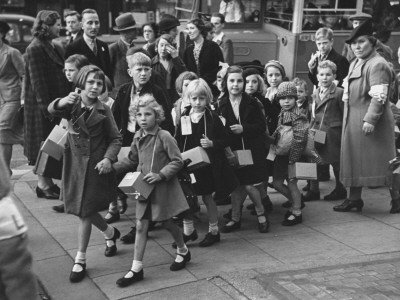 evacuation of children in ww2 essays
