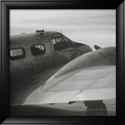 Vintage Flight II Framed Art Print