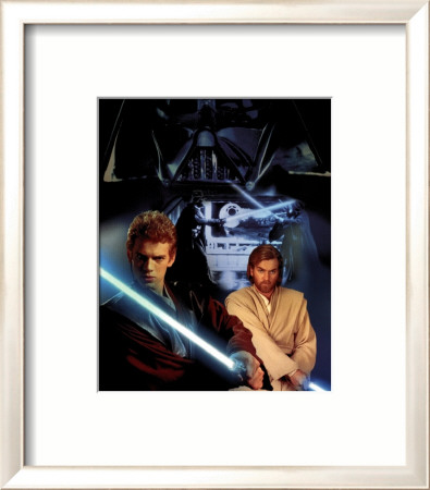 Star Wars: Episode II - Attack of the Clones Affiche encadrée