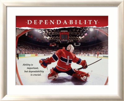 Dependability Framed Art Print
