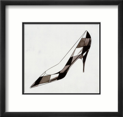 High Heel, c.1958 Framed Art Print