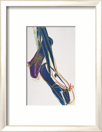 Ballet Slippers, c.1981-82 Framed Art Print