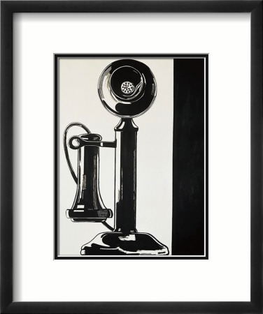 Telephone, c.1961 Framed Art Print